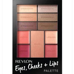 Revlon Romantic Nudes Eyes, Cheeks & Lips Palette
